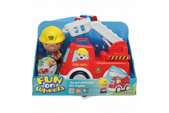 KEENWAY Carro de Bomberos Fun o Wheels