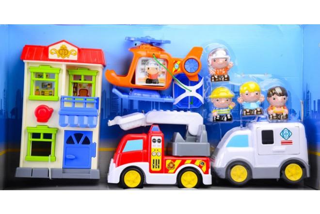 Playset Héroes de rescate en la ciudad Keenway