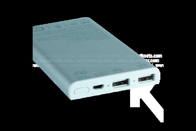Batería Recargable USB/Micr 7000 mAh Gris