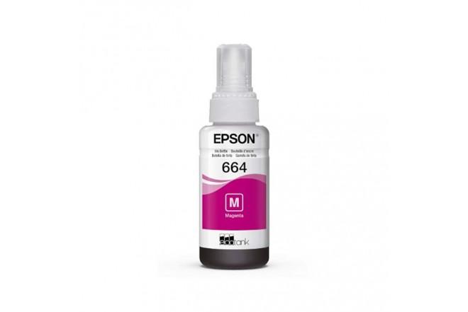 Botella tinta EPSON T664 Magenta