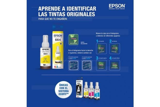 Botella tinta EPSON T664 Amarillo_5