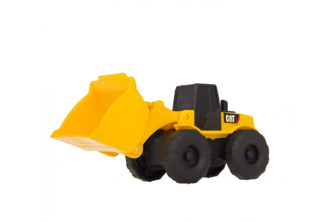 Set Mini Maquinas Construcción CATERPILLAR - TOY STATE Amarilla