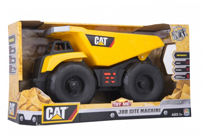 Volqueta CATERPILLAR - TOY STATE Motorizado Amarillo
