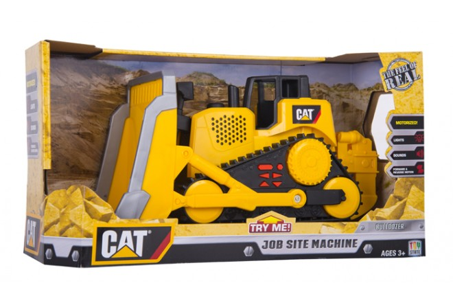 Tractor Bulldozer CATERPILLAR - TOY STATE - Amarillo