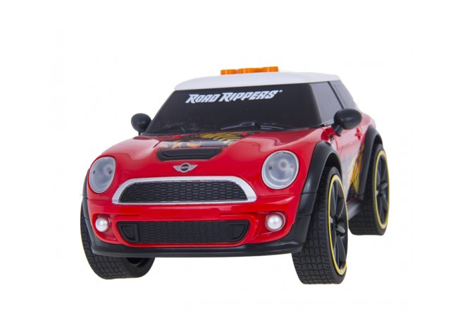 Vehículo  Dancing Car  ROAD RIPPERS- TOY STATE MiniCopper 5 Rojo