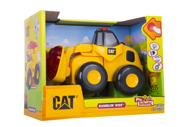 Pala Mecánica Rumbling Ride CATERPILLAR - TOY STATE
