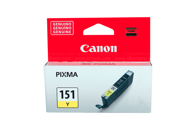 Tinta CANON CLI-151 Y 7 Ml Yellow