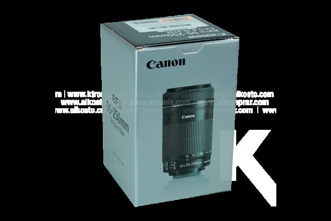 Lente CANON 55-250 MM STM