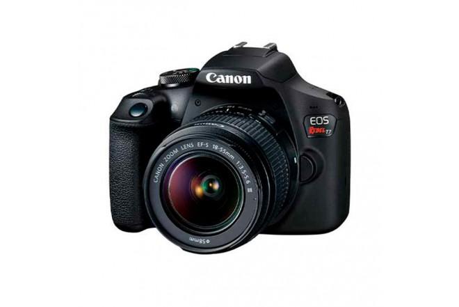 Cámara Fotográfica CANON EOS T7 18-55DC III Negro2