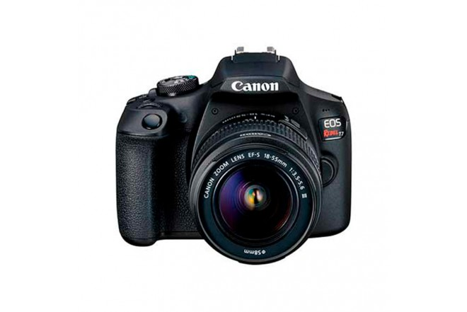 Cámara Fotográfica CANON EOS T7 18-55DC III Negro1