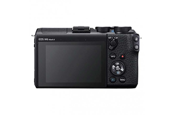 Cámara Fotográfica Profesional EOS M6MKII - 15-45 Negro6