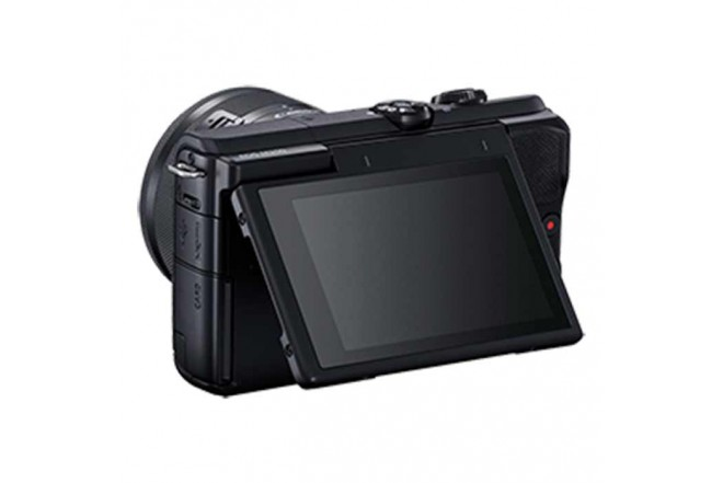 Cámara Fotográfica Profesional EOS M200 - 15-45 Negro6