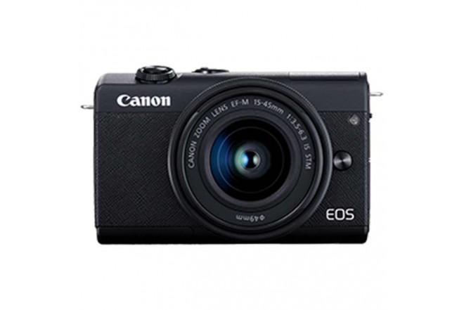 Cámara Fotográfica Profesional EOS M200 - 15-45 Negro1
