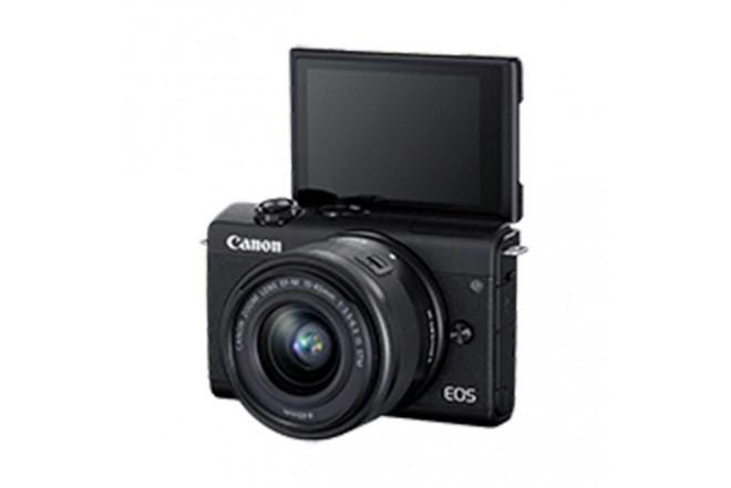 Cámara Fotográfica Profesional EOS M200 - 15-45 Negro4