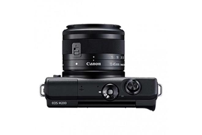 Cámara Fotográfica Profesional EOS M200 - 15-45 Negro7