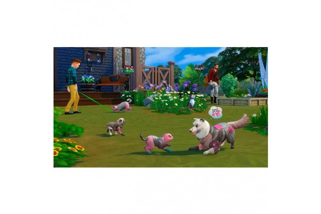 Juego PS4 The Sims 4 Plus Cats Dogs Bunlde 1