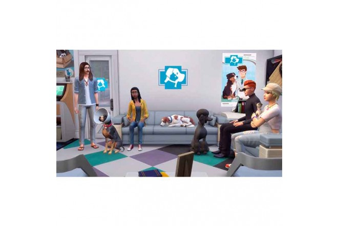 Juego PS4 The Sims 4 Plus Cats Dogs Bunlde 4