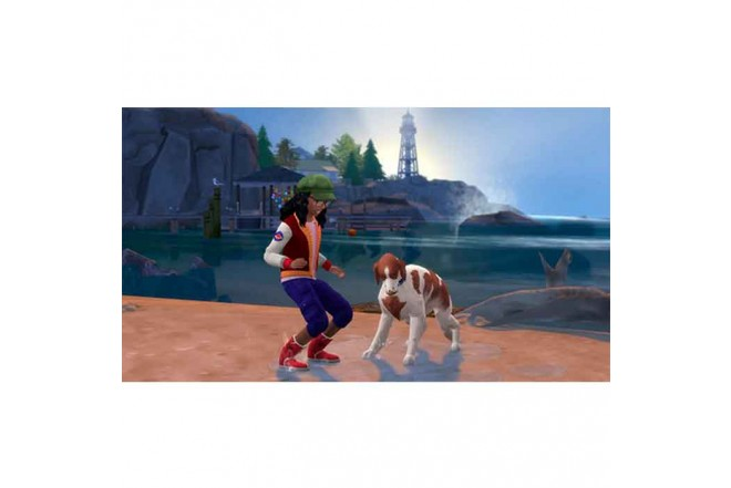 Juego PS4 The Sims 4 Plus Cats Dogs Bunlde 3