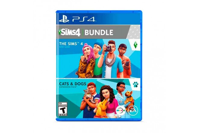 Juego PS4 The Sims 4 Plus Cats Dogs Bunlde 5