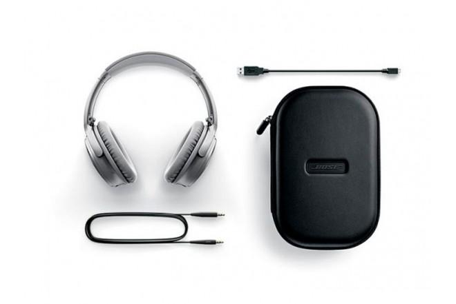 Audífonos Inalámbricos BOSE QC35 NC On Ear Plata