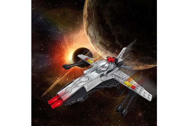 OX BLOCKS Set de Bloques para armar Nave Espacial de117 piezas.