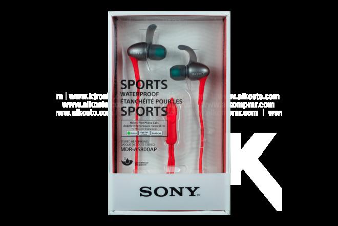 Audífonos SONY Inalámbricos InEar AS800AP Deportivos