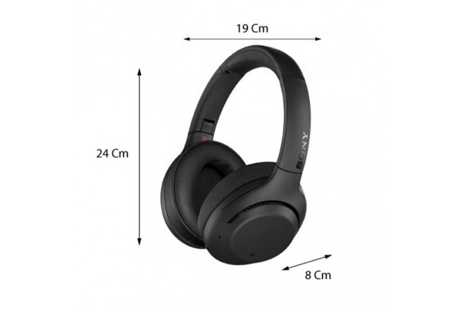 Audífono SONY Bluetooth OnEar Noice Cancelling WH-XB900N Negro 2