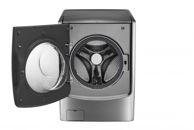 Lavadora / Secadora LG CF 22 Kg WD22VTS6 Inox 6Motion™ DD 3