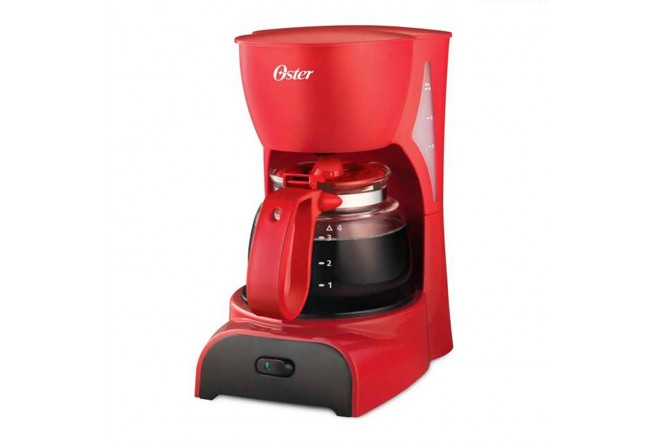 Cafetera OSTER 4 Tazas DR5R Rojo1