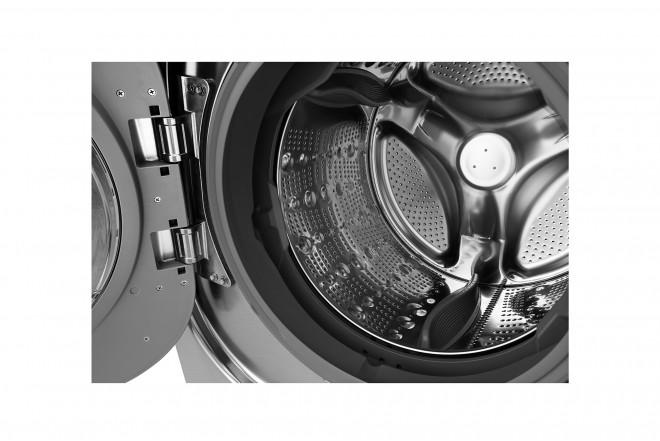 Lavadora / Secadora LG CF 22 Kg WD22VTS6 Inox 6Motion™ DD 4
