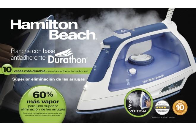 Plancha de Ropa HAMILTON BEACH Vapor Durat