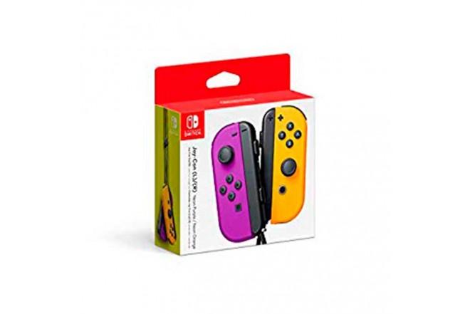 Control Switch Joy Con L/R Purpura /Naranja 1