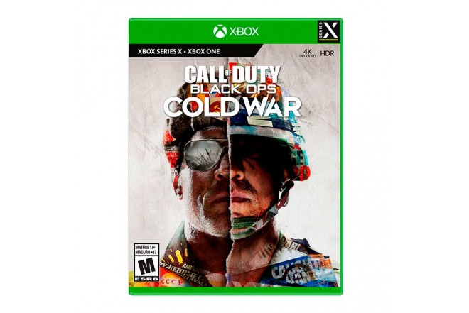 Juego XBOX ONE X Call Of Duty Black Ops Cold War 9