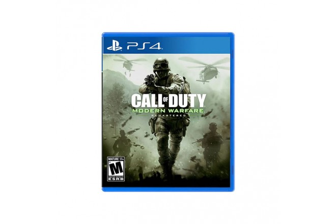 Videojuego PS4 Call Of Duty Modern Warfare Remastered