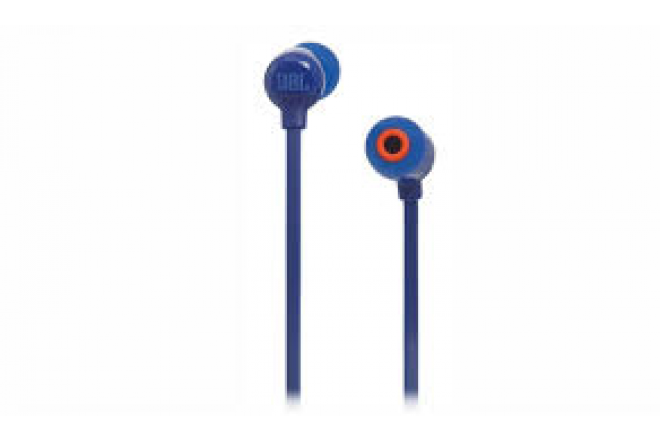 Audífonos JBL Alámbricos InEar Manos Libres T110 Azul 1