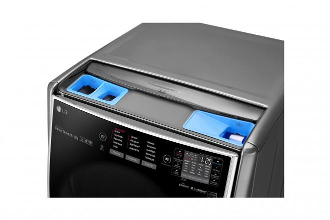 Lavadora / Secadora LG CF 22 Kg WD22VTS6 Inox 6Motion™ DD 2