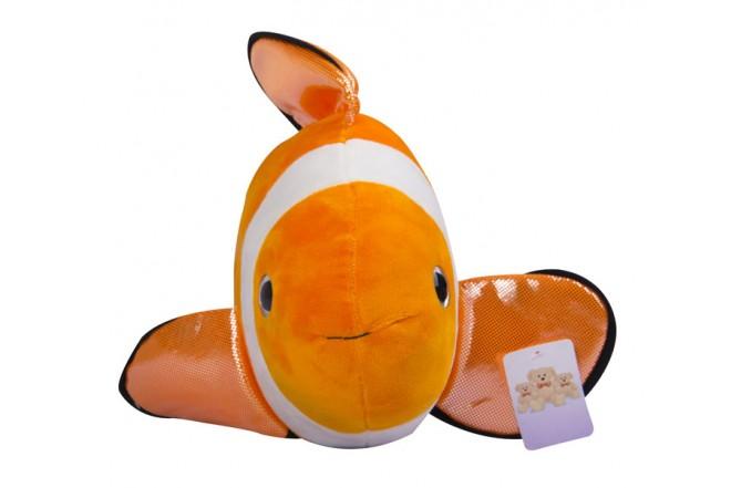 Pez payaso Best Made Toys de peluche Naranja