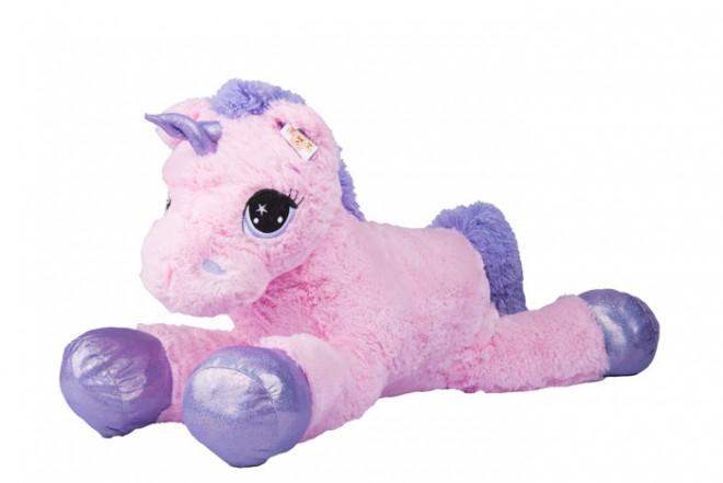 Unicornio de peluche Best Made Toys Rosado