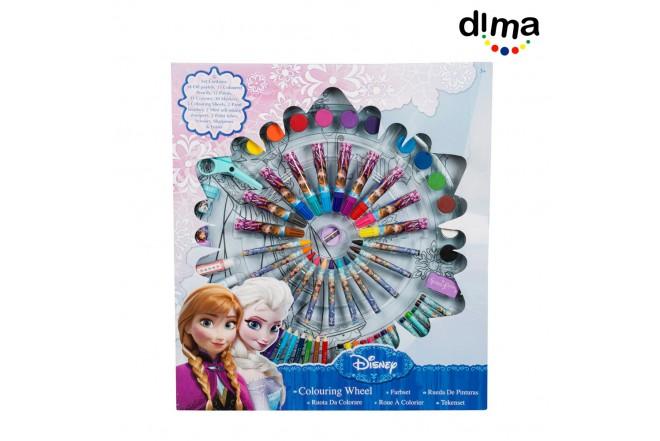 Estuche rueda de colores frozen
