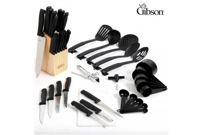 Set de cocina GIBSON x 41 Utensilios