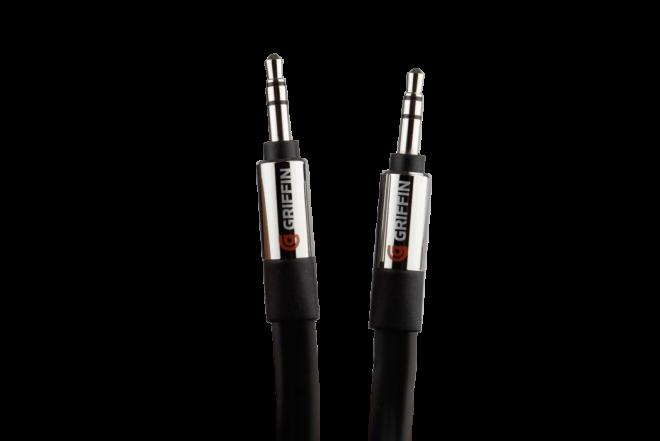 Cable de audio GRIFFIN 3'/0.9 m Color Negro (Accesorios)