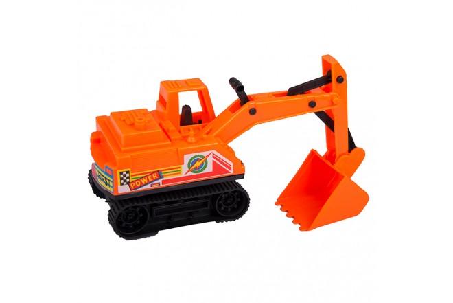VICTORY TOYS Excavadora Naranja