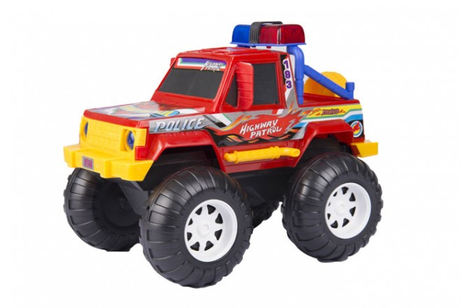 Camioneta De Policia (Juguetes)