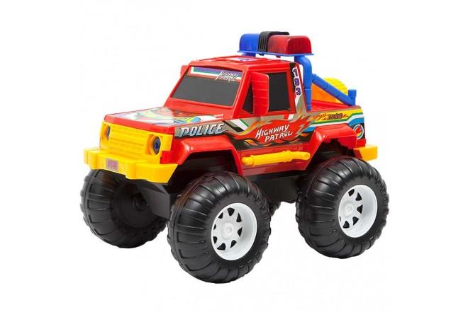 Camioneta 4x4 Policía VICTORY TOYS_2