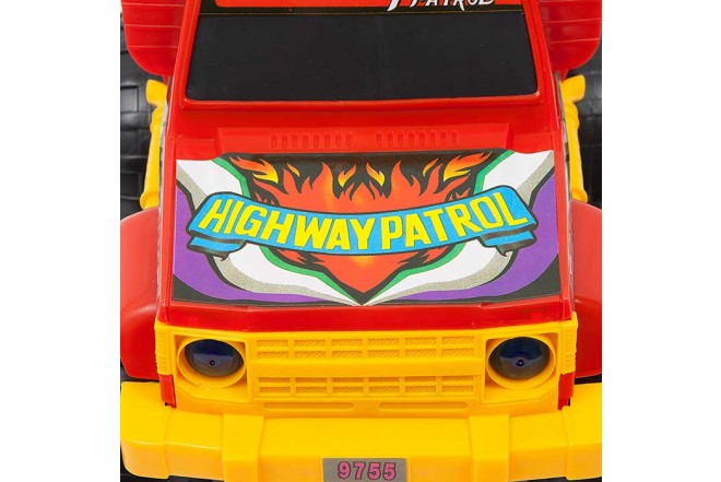 Camioneta 4x4 Policía VICTORY TOYS_4