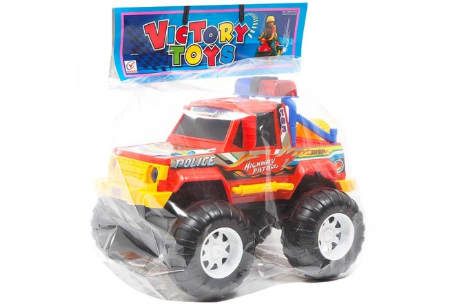Camioneta 4x4 Policía VICTORY TOYS_5