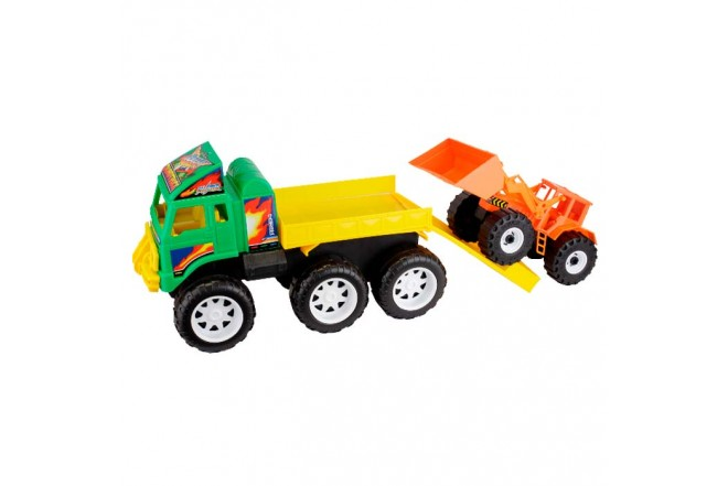 VICTORY TOYS Camion Transportador Dump Truck