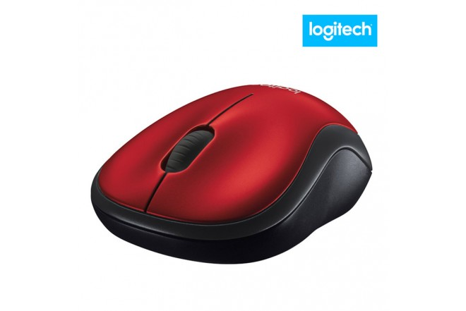 Mouse LOGITECH M185 Rojo