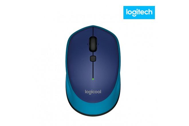 Mouse LOGITECH Óptico M335 Azul