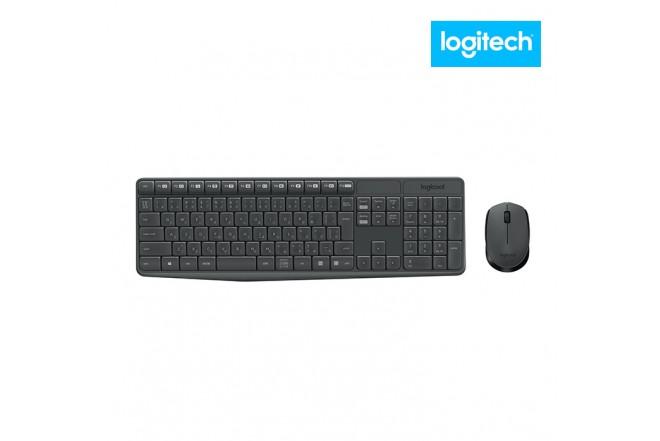 Combo LOGITECH Mouse +Teclado Inalámbrico MK235